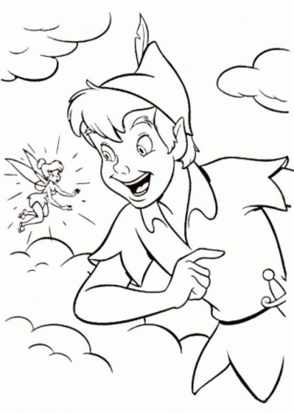 tinkerbell the movie coloring pages - photo#23