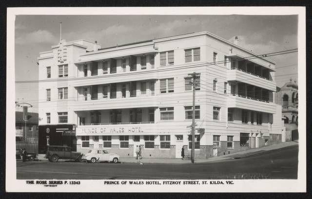 Prince of Wales Hotel, Fitzroy Street, Esplanades, St Kilda, Vic
