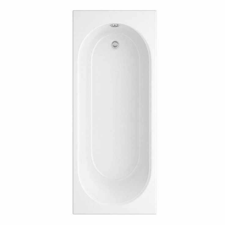 Eden round edge bath 1500 x 700