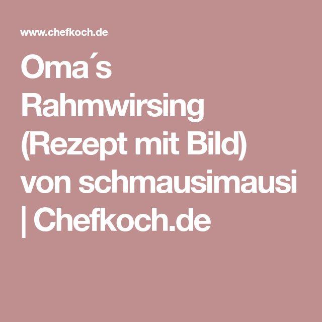 Oma´s Rahmwirsing (Rezept mit Bild) von schmausimausi | Chefkoch.de
