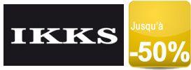 Découvrez les « IKKS SALES » jusqu'à -50% sur une sélection d'articles de la boutique officielle Ikks