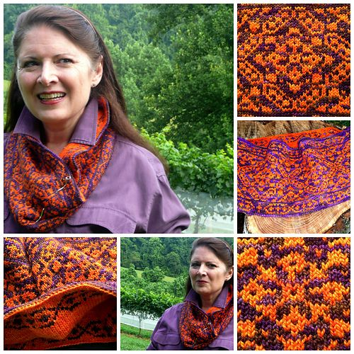 109 best Fair Isle/Stranded Cowls, Scarves, Shawls images on ...