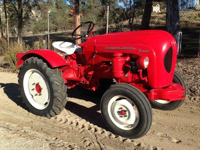 Rare Porsche Junior Diesel Tractor For Sale @ Californiacar.com