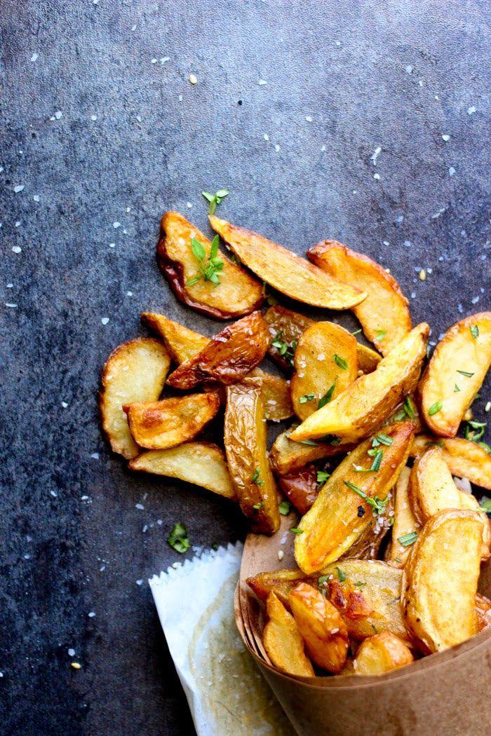 gorgeous, golden Herbed Bistro Fries
