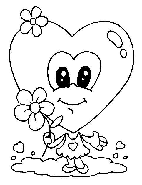Valentijn kleurplaten