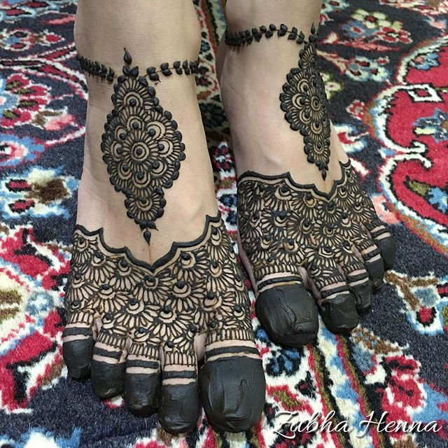 Beautiful Feet Henna