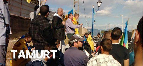 =======INDEPENDANCE DE LA KABYLIE=======: Levée du drapeau kabyle   Tamurt.info