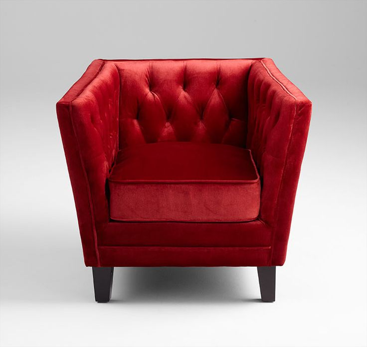 Prince Valiant Chair Red