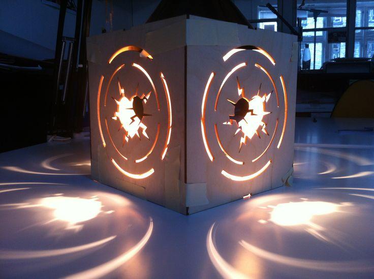 Lamp prototype for huset i magstræde
