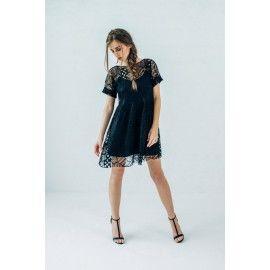 Boho lace dress #allblackeverything #romantic #minimalism
