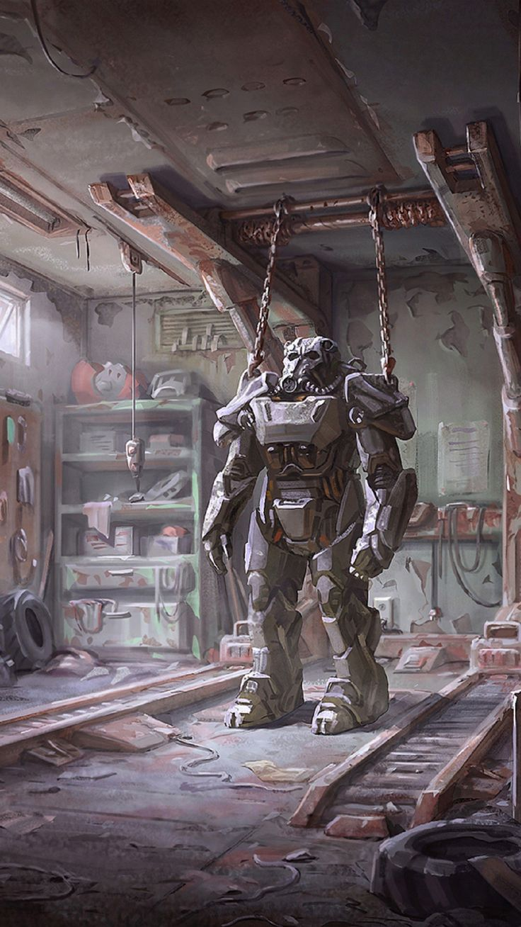 Power Armor Fall Out Image in 2020 Fallout art, Fallout