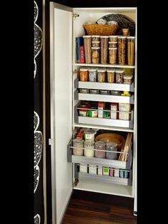 Change To Pull Out Pantries IKEA Sells Pull Out Pantries Or Drawers. They
