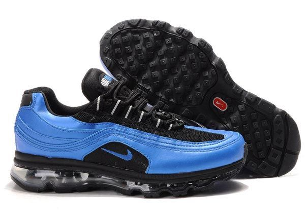 397252-014 Nike Air Max 24-7 Black White Blue Spark AMFM0559