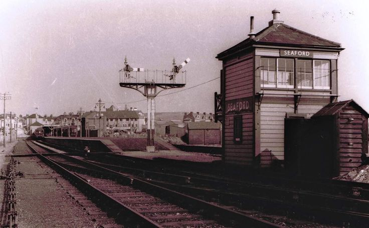 My first job was a Seaford Station 1965 Junior Porter Bishopstone I used to help the signalmen  Fred Dymont and R Elliott with the oil lamps for the signal gantry's and trains with a cup of tea in the signal box afterwards.
