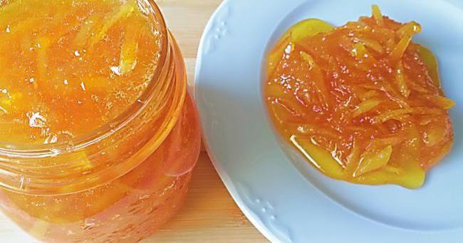 Mermelada de naranja, ¡espectacular!