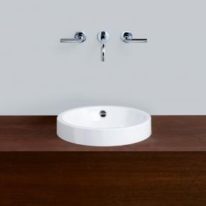 Alape AB.K400.1 countertop washbasin Ø 40 cm white