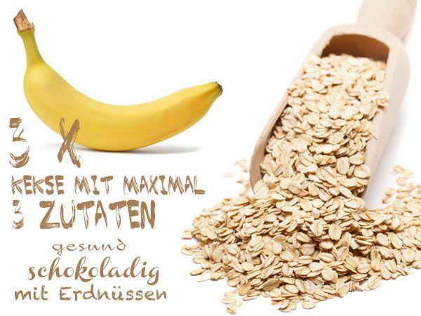 Genial und einfach: Kekse mit maximal 3 Zutaten | eatsmarter.de