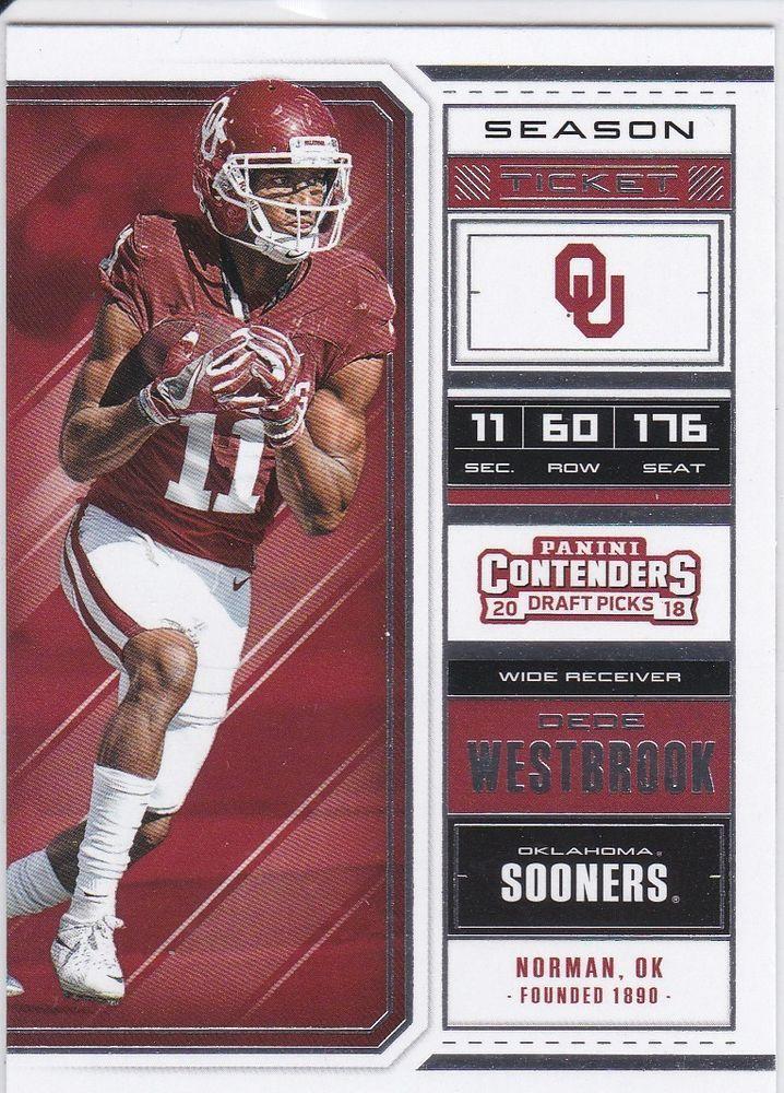 Oklahoma Sooners NCAA Helmet Shadowbox w// Dede Westbrook card