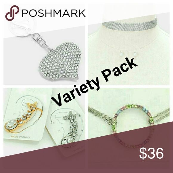 Selling this Variety Pack Of Gorgeous Accessories on Poshmark! My username is: haia_pm. #shopmycloset #poshmark #fashion #shopping #style #forsale #Haia #Accessories