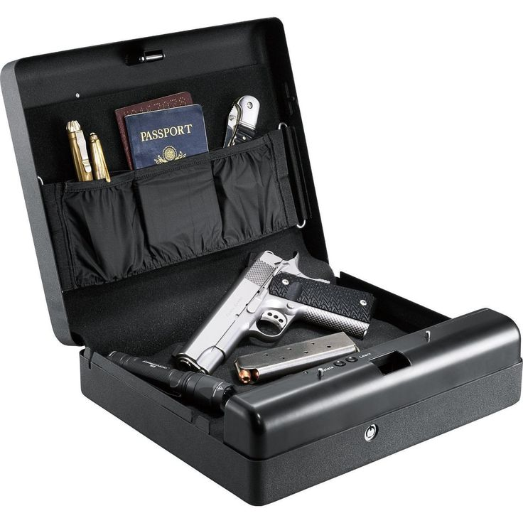 Gunvault MicroVault XL MVB1000 Gun Safe with Biometric fingerprint #1