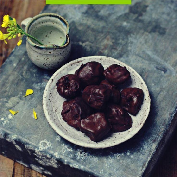 Domowe śliwki w czekoladzie! Wegańskie, proste i najlepsze!