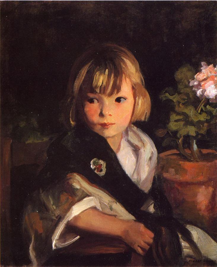 Portrait of Boby by Robert Henri