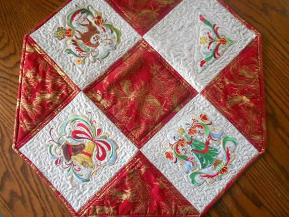 83 best images about quilts and table runners on pinterest for 10 minute table runner with batting