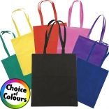 The Rainham Tote bag comes in a number of colour options, allowing you the choice of creating your very own custom promotional bag.