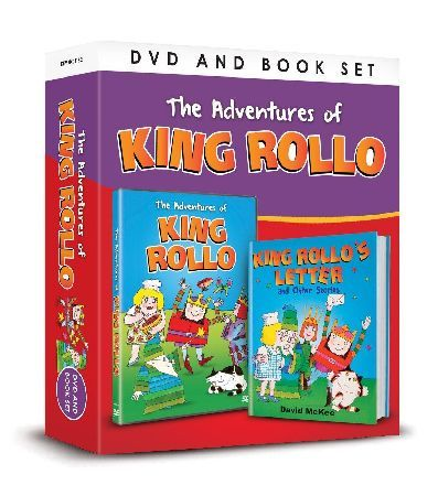 King Rollo THE ADVENTURES OF KING ROLLO: King Rollo is a children s character created by David McKee in 1979 who featured in a series of books TV animations narrated by Ray Brooks and a comic strip in the magazi http://www.MightGet.com/january-2017-12/king-rollo.asp