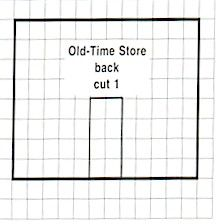 Old Time Country Store - Gingerbread House Patterns