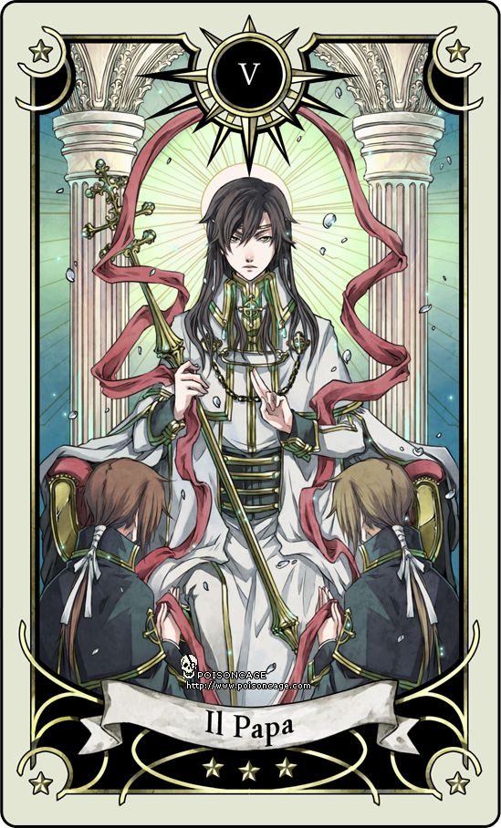 Tarot: The Hierophant by *rann-rann on deviantART