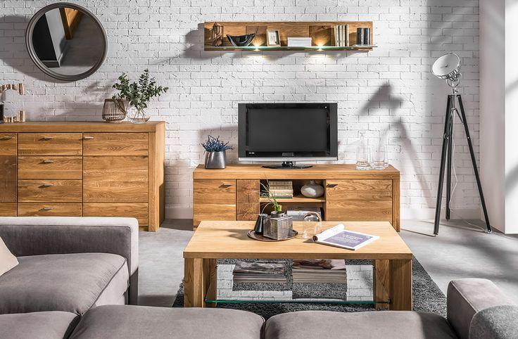 Wyraźny rysunek drewna podkreśla unikalny styl projektów, a ciepła kolorystyka dębu miodowego sprawia, że meble z tej linii pozwolą wykreować przytulną i inspirującą przestrzeń. Tak w skrócie można opisać charakter kolekcji Velle. #meble #szynakameble #kolekcjavelle #drewno #litedrewno #wood #furniture #furnituredesign