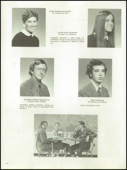 1974 St. Rose High School Yearbook via Classmates.com