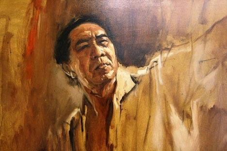 Raden Basoeki Abdullah -  the famous Indonesian Artist (1915 - 1993)