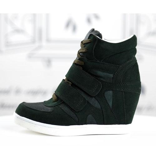 basket femme montante compense daim cuir noir scratch retro high top sneakers fashion mode 2012 2013 ref55.jpg