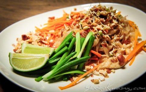 Pad thai, pat thai, phat thai, tajski slodkokwasny makaron - SlodkoKwasny.com : sklep internetowy, przyprawy, przepisy, kuchnia azjatycka, o...