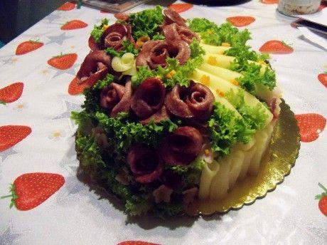 Dorty na přání - Fotoalbum - Moje dorty - slaný dort