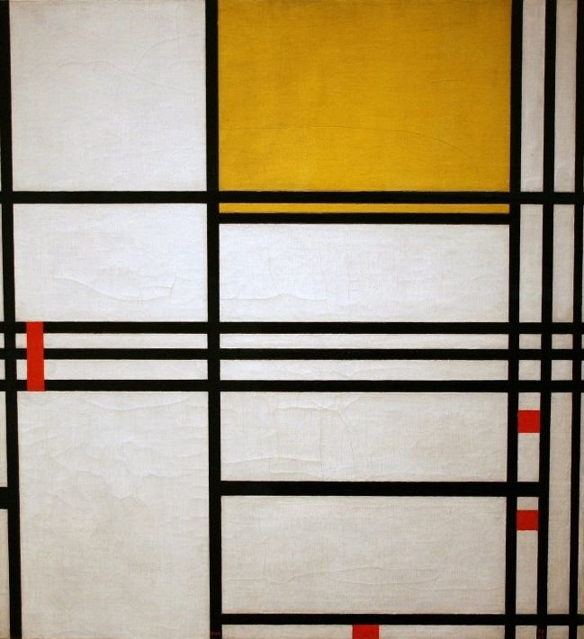 Piet Mondrian - Painting number nine - 1939
