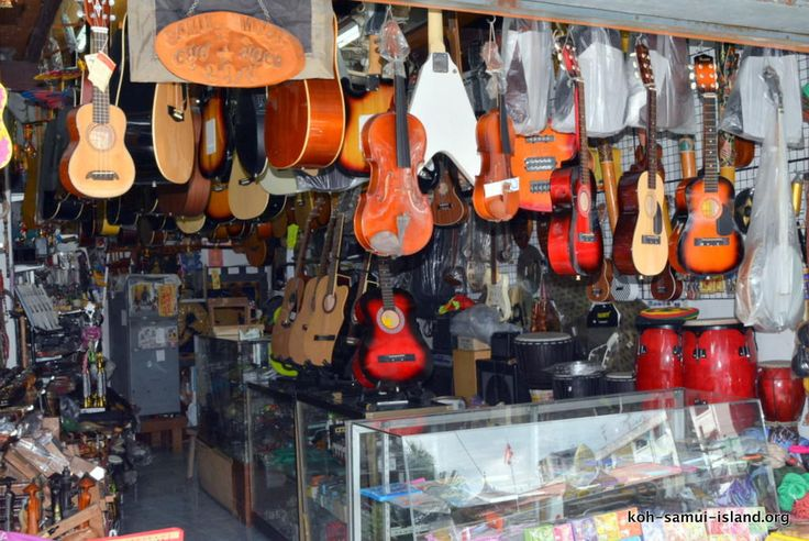 Koh Samui Island Info Picture Galleries Temples Beaches Shopping | Nathon Shopping Gallery