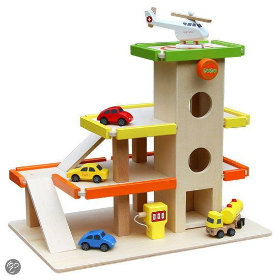 17 Best Images About Toys Garage Wooden On Pinterest