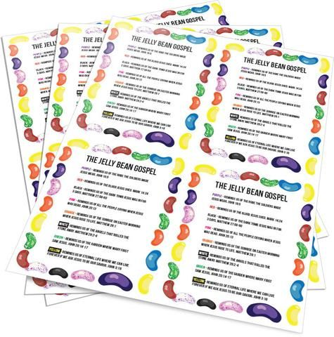 Free Jelly Bean Gospel Cards