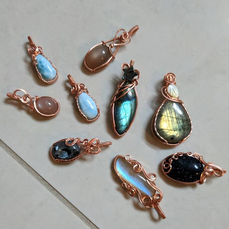 So I had an idea, let me know what you think. I am thinking of having deals on simple(not-tree of life or coiled) copper pendants, where you can pick 4 for $100 shipped(to US or Canada, additional shipping fees may apply for other countries). This way the high international shipping(I now live in Australia) gets spread out a bit, and being able to ship 4 together means less customs forms for me to fill out, yay! And it works out to $25 per pendant, which is an awesome deal.
