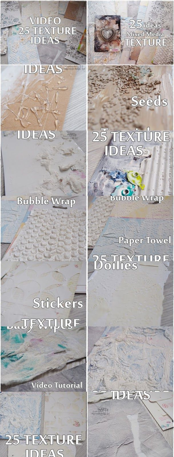 Hello and Hi my dear crafty buddies :)         As always I am very happy to be back to you.   Let's talk about Texture again... I have 25 n...