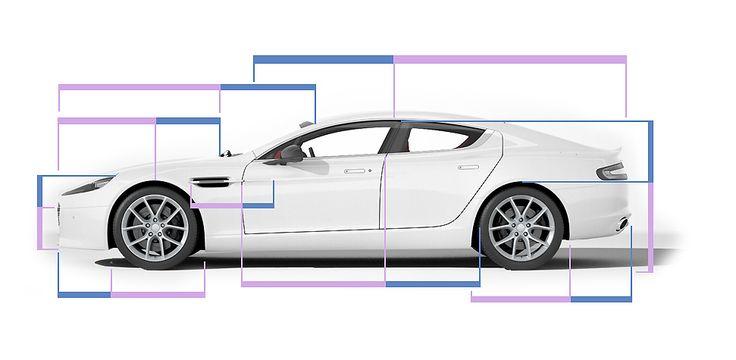 Aston Martin Rapide S - Golden Ratio