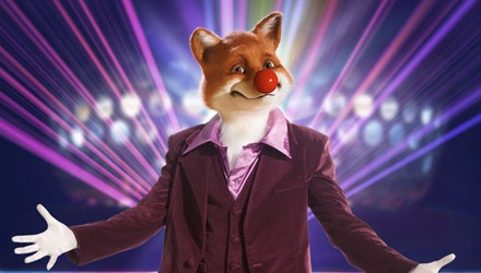 The red nosed Fox!