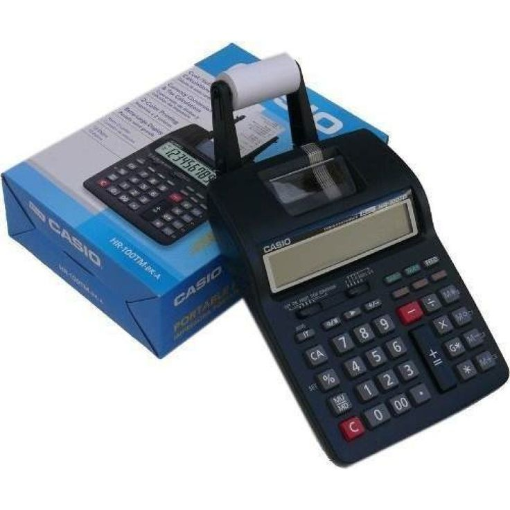 Calculadora Casio HR-100 con Impresor
