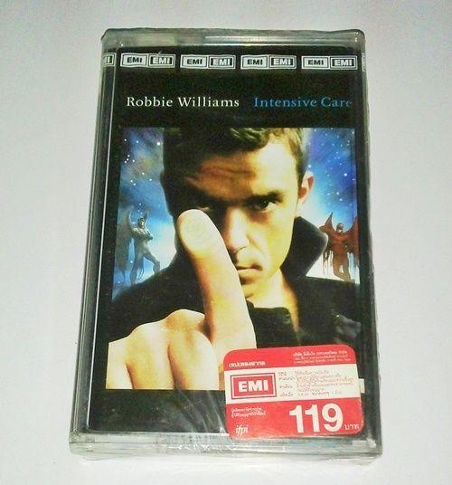 Robbie Williams - Intensive Care / ORG Thailand Cassette Edition  >NEW CASSETTE< #PopRock