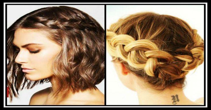 8 ιδέες για πλεξούδες σε κοντά μαλλιά!