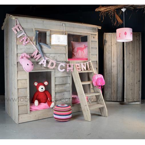17 best images about lit cabane on pinterest petite - Lit chateau pour petite fille ...