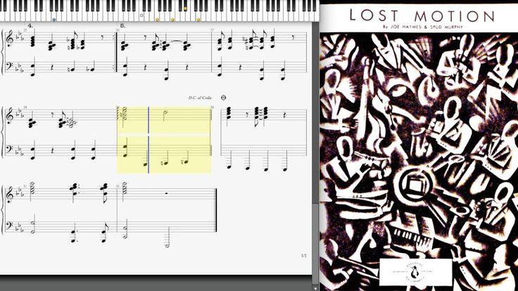 Lost Motion by Joe Haymes & Spud Murphy (1935, Jazz piano)